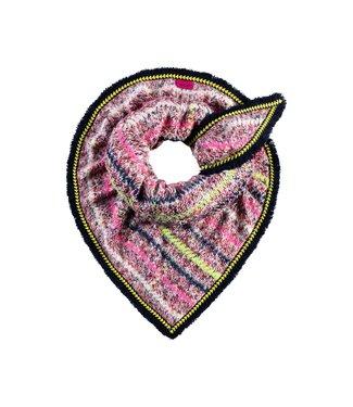 POM Amsterdam Sjaal Furry Swirl Pink by Katja