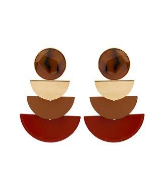 Souvenirs de Pomme Oorring Trio Moon camel Mix