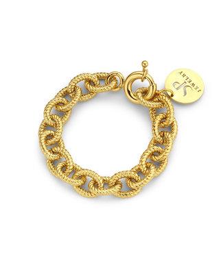 Souvenirs de Pomme Armband Andrea Gold