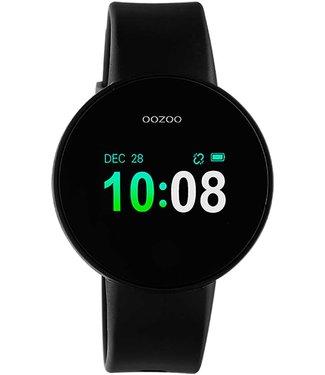 Oozoo Smartwatch Zwart - Zwart - Zilver