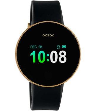 Oozoo Smartwatch Zwart - Goud