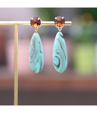 Atelier Louiza Oorring Rivoli 01 Turquoise