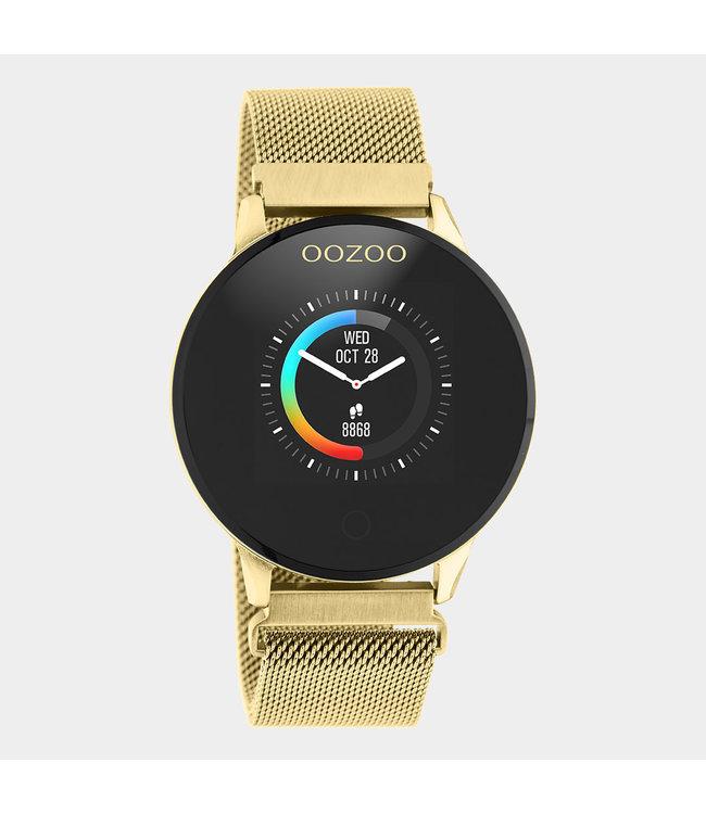 Oozoo Smartwatch Mesh Goud/Goud