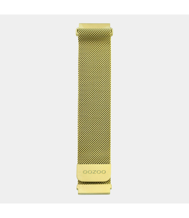 Oozoo Uurwerkbandje Smartwatch Unisex Goud