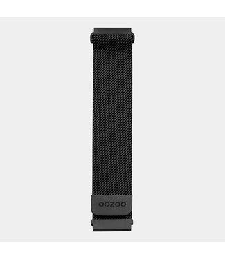 Oozoo Uurwerkbandje Smartwatch Unisex Zwart