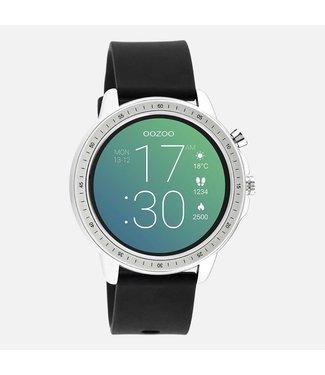 Oozoo Smartwatch zwart met zilver