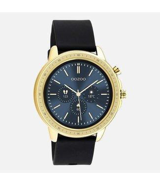 Oozoo Smartwatch zwart met goud