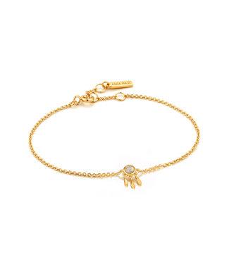 Ania Haie Armband Gold midnight fringe