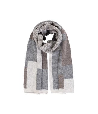 Passigatti Sjaal Simply taupe
