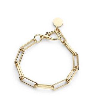Souvenirs de Pomme Armband Link chain Gold