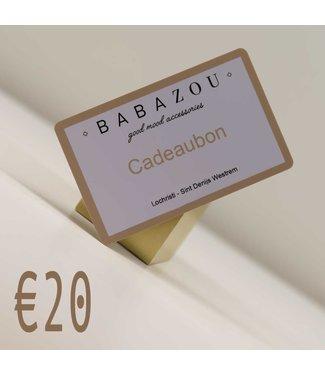 Cadeaubon €20