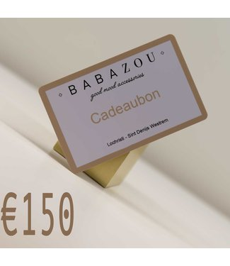 Cadeaubon €150