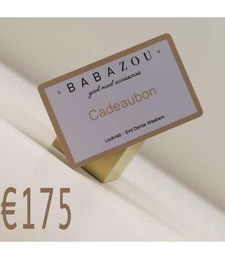 Cadeaubon €175