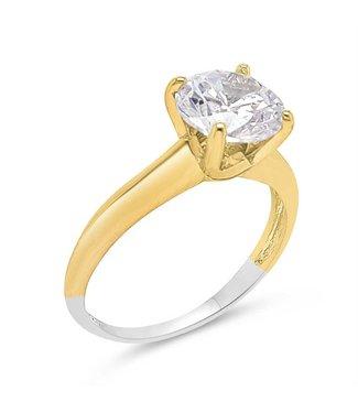 Silver Rose Ring Verina