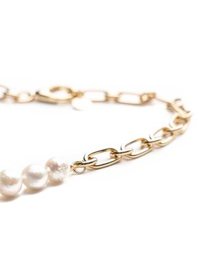 Souvenirs de Pomme Halsketting Lima small necklace with pearls