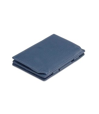 Garzini Portemonnee Essenziale coin pocket Navy blue Nappa