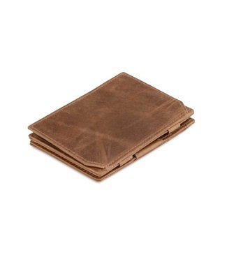 Garzini Portemonnee Essenziale coin pocket Brushed brown