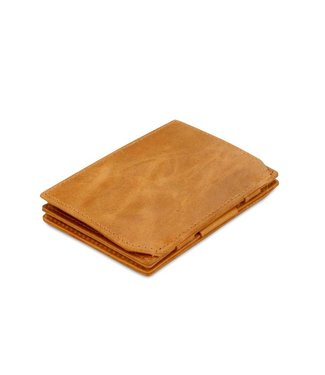 Garzini Portemonnee Essenziale coin pocket Brushed Cognac