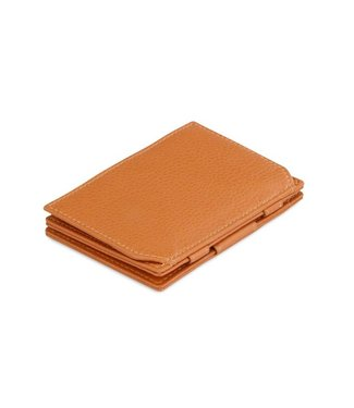 Garzini Portemonnee Essenziale coin pocket Cognac Brown Nappa