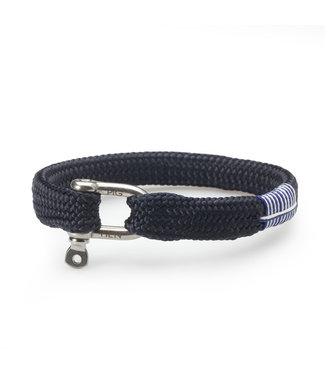 Pig & Hen armband Sharp Simon Navy M