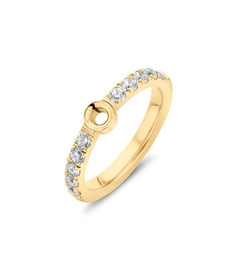 MelanO Twisted Petite Crystal ring