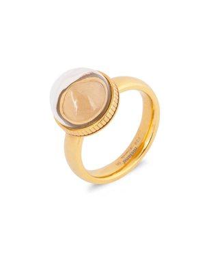 MelanO Globe ring
