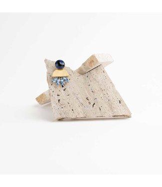Souvenirs de Pomme Oorring Victoria Blue Diamonds