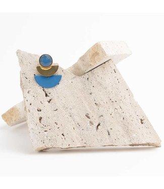 Souvenirs de Pomme Oorring Duo Moon Blue