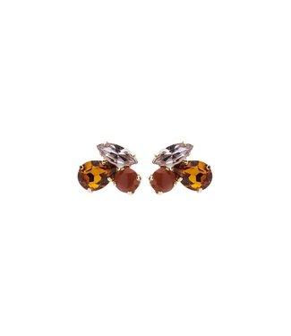 Souvenirs de Pomme Oorring Cleo Shortie Rust Mix