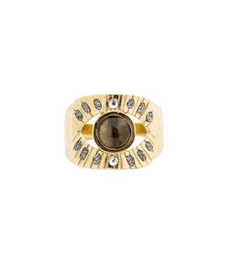 Hipanema Ring Salma Gold