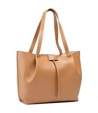 Patrizia Pepe Medium Shopping bag Cuoio