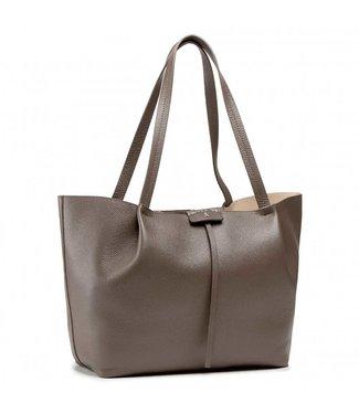 Patrizia Pepe Large Shopping bag Mangrove Green