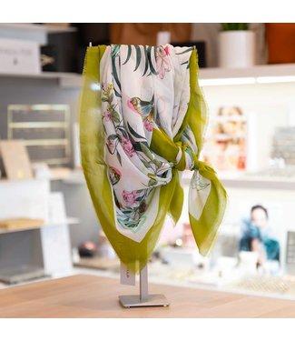 codello Sjaal Into the Green Off white