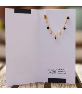 Murielle Perrotti Armband Giusy Gold Black