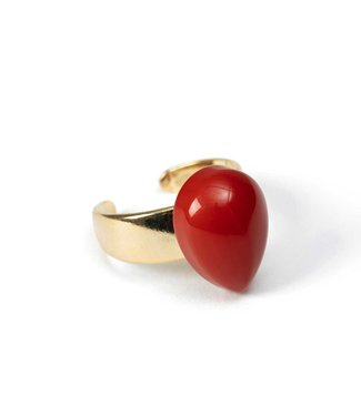 Laurence Delvallez Ring Dia Coral