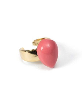 Laurence Delvallez Ring Dia Pink