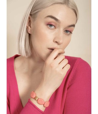 Laurence Delvallez Armband Solo Pink