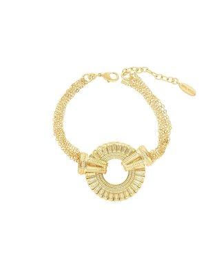 Hipanema Armband Babou gold