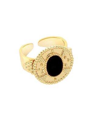 Hipanema Ring Anka Black