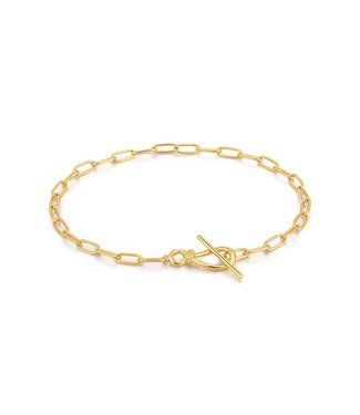 Ania Haie Armband Gold Knot T Bar Chain