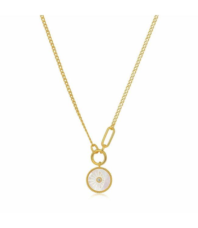 Ania Haie Halsketting Eclipse Emblem Gold