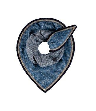 POM Amsterdam Sjaal Furry Powder Blue