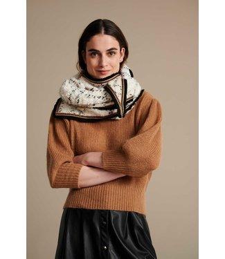 POM Amsterdam Sjaal Teddy Ivory Ecru