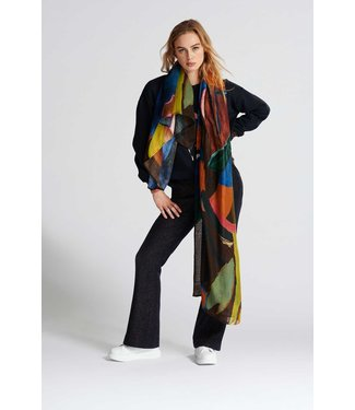 POM Amsterdam Sjaal Artist Palette
