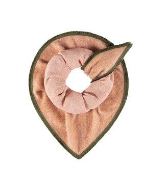 POM Amsterdam Sjaal Furry Peach Pink