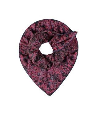 POM Amsterdam Sjaal Hot Pink Shimmer