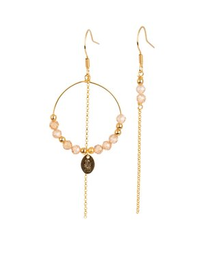 Murielle Perrotti Oorring Mathilde Gold/Champagne