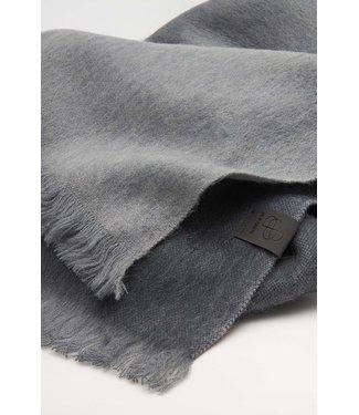 Bufandy Sjaal Black Gloomy Grey