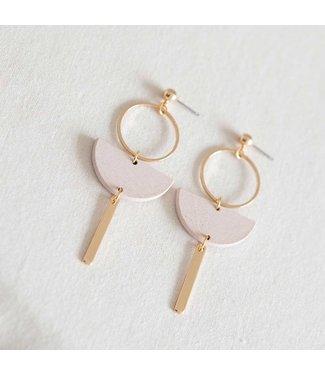 Studio Nok Nok Oorring Basic 01 Pink