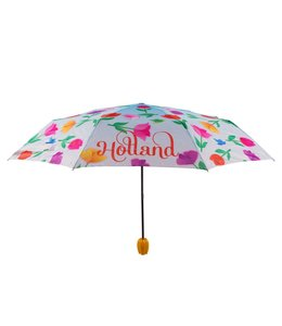 12 stuks Paraplu tulp design zwevende tulpen Holland
